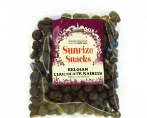 Belgian Chocolate Raisins 300g