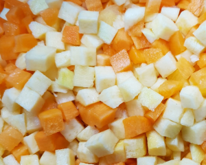 Carrot & Swede Diced 400g