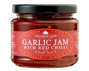 Garlic Jam with Red Chilli 240g