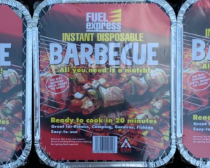 Instant Disposable Barbecue