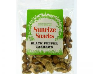 Black Pepper Cashews 80g