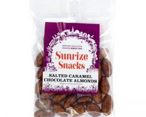 Salted Caramel Chocolate Almonds 100g
