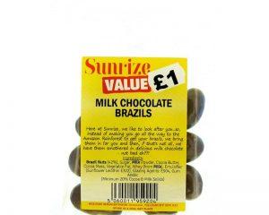 Milk Chocolate Brazils 90g