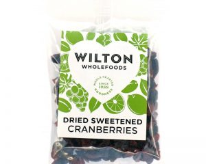 Dried Sweetened Cranberries 100g