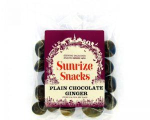 Plain Chocolate Ginger 110g